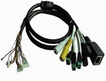 IP camera cable(with reset button)