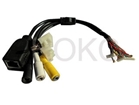 Network IR box camera cable