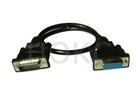 DB-2-15(F) to DB-2-15(M) VGA  cable
