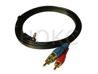 RCA-M to DC-M(2.5mm) A/V cable