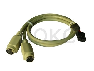 Minidin 6p to housing cable
